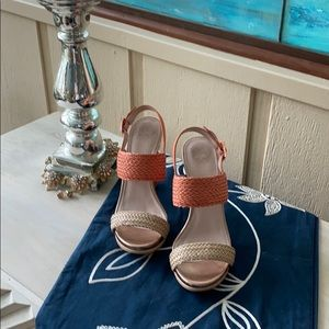 Vince Camuto sandals. Size 7.5. Barely worn!